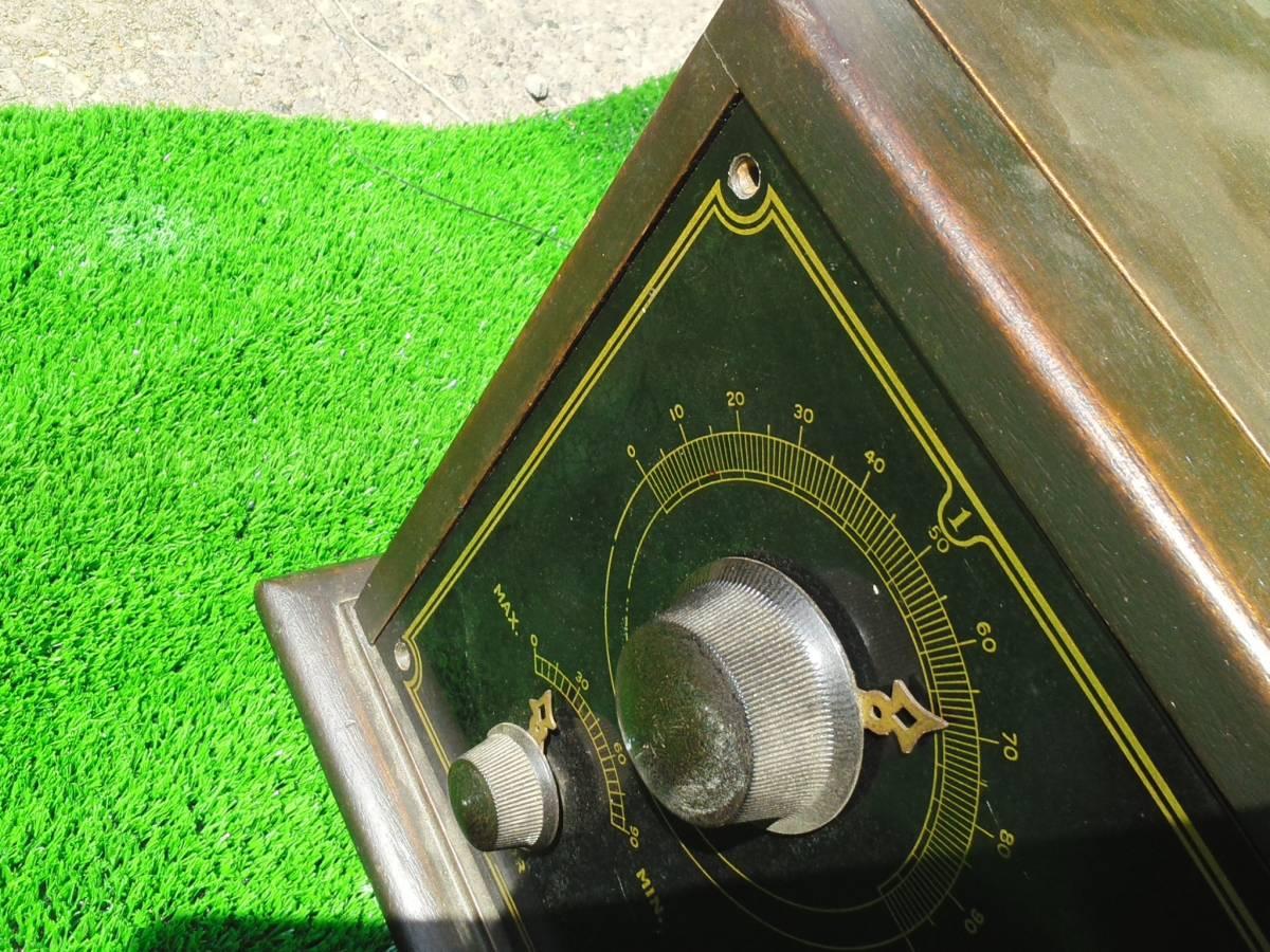 DAY-FAN★OEM-7★真空管ラジオ?・ジャンク_画像8