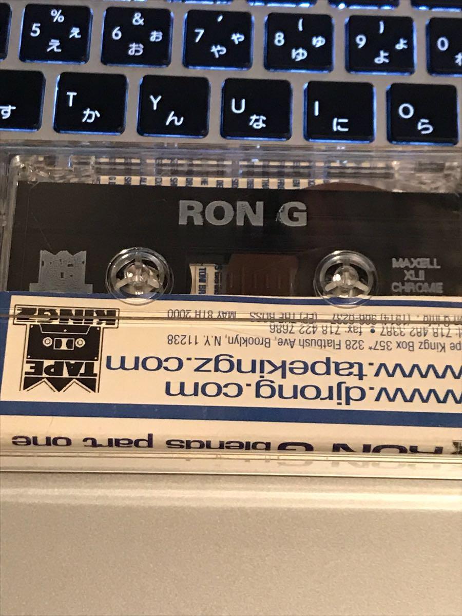 CD付 MIXTAPE TAPE KINGZ DJ RON-G BLENDS PART ONE MISTER CEE KID CAPRI PREMIER MURO KIYO KOCO HIP HOP CELORY_画像2