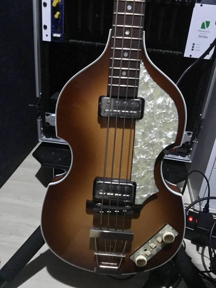 Hofner 500/1 VINTAGE '62 ハードケース付き 美品