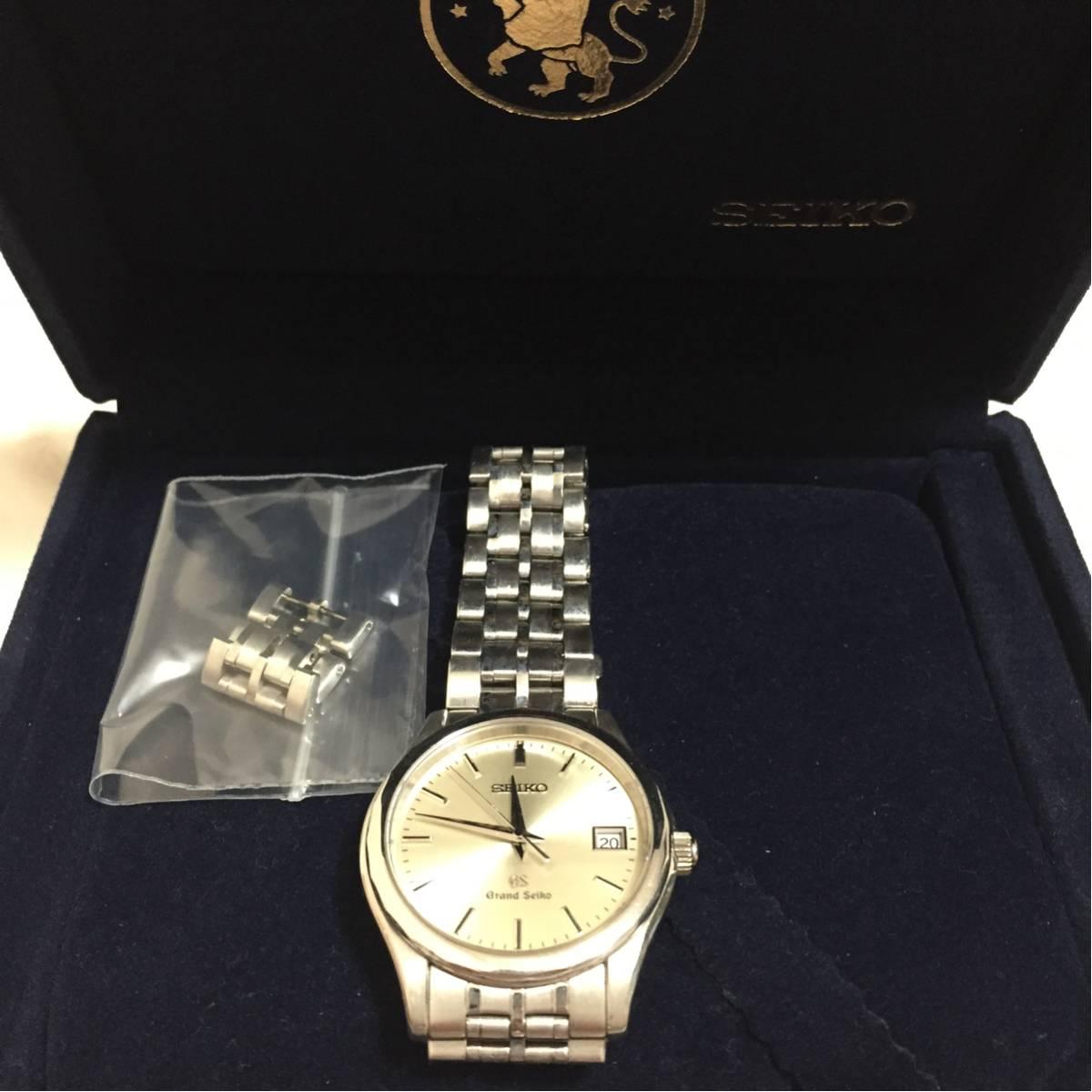 Grand Seiko グランドセイコー 18Kホワイトゴールド SBGX019 グランドセイコー最高峰モデル 正規品 WG無垢腕時計