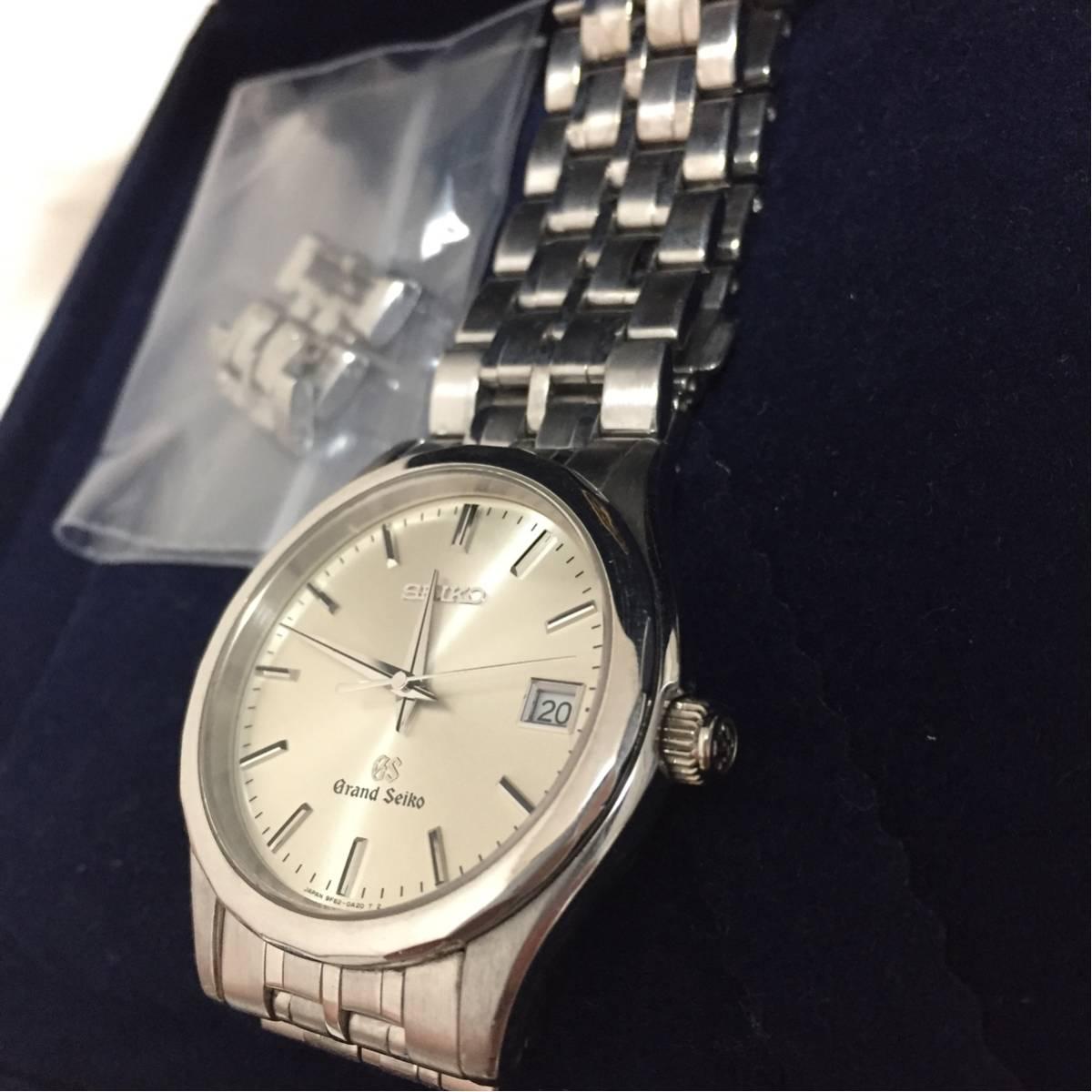 Grand Seiko グランドセイコー 18Kホワイトゴールド SBGX019 グランドセイコー最高峰モデル 正規品 WG無垢腕時計_画像2