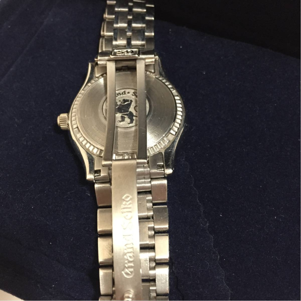 Grand Seiko グランドセイコー 18Kホワイトゴールド SBGX019 グランドセイコー最高峰モデル 正規品 WG無垢腕時計_画像3