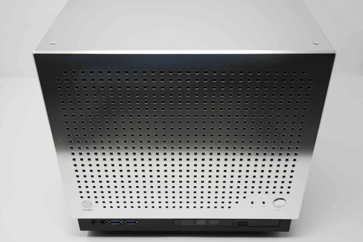 静音自作PC■abee B10G 化研アルマイト□AMD A6 6400K 3.9GHz+メモリ4G+Crucial M4 SSD 256GB+MSI A78-E35□ 無線LAN