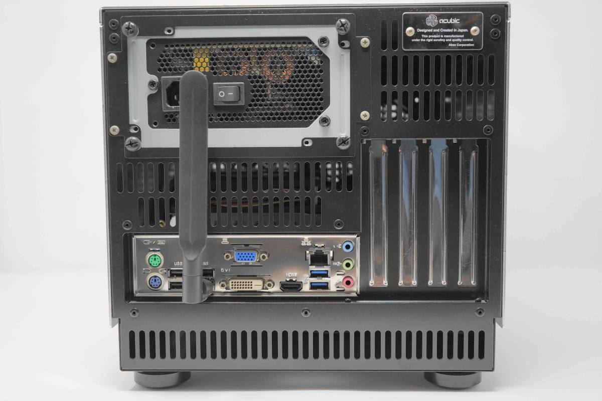 静音自作PC■abee B10G 化研アルマイト□AMD A6 6400K 3.9GHz+メモリ4G+Crucial M4 SSD 256GB+MSI A78-E35□ 無線LAN_画像2