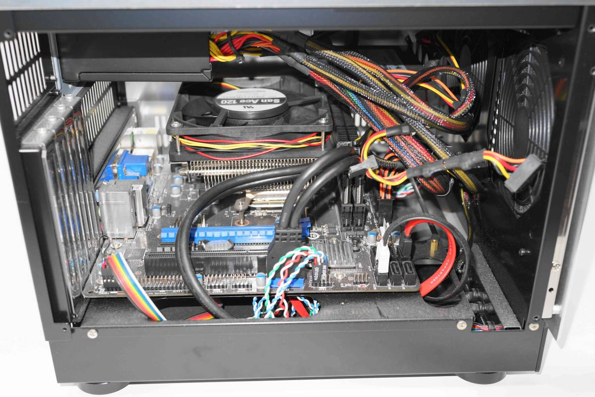 静音自作PC■abee B10G 化研アルマイト□AMD A6 6400K 3.9GHz+メモリ4G+Crucial M4 SSD 256GB+MSI A78-E35□ 無線LAN_画像5
