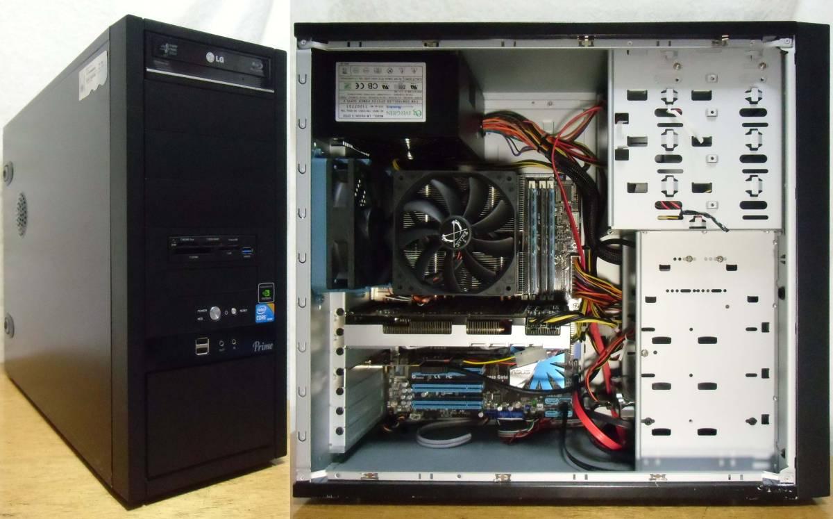 自作 Core i7-870 2.93Ghz/MEM・16G/SSD・120G/HDD・2T/GeforceGTX560Ti/Blu-rayマルチ/Windows10 Home 64bit 中古_画像2