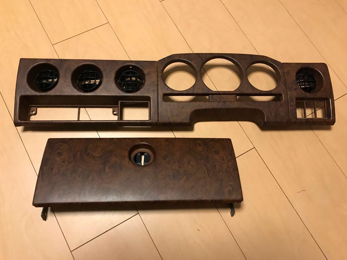 ジムニー JA12 JA22 JB32ウッド調インパネ 限定グレードフィッシングマスター 美品 希少