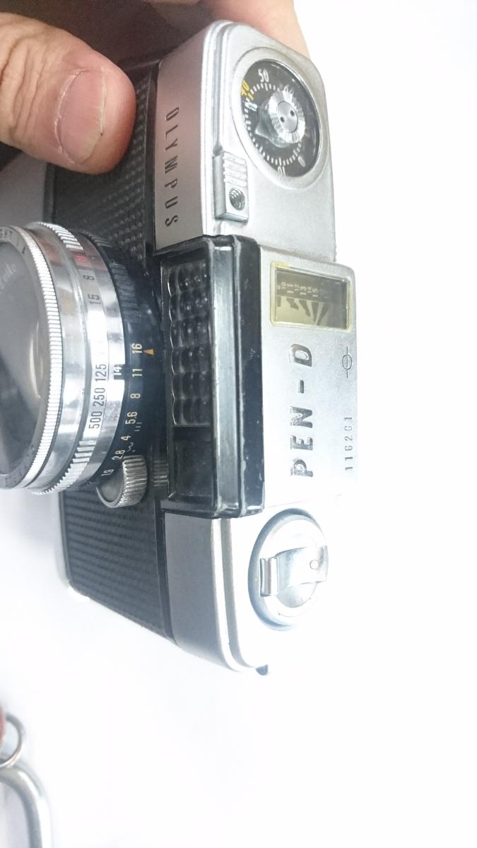 ☆ コンパクトフィルムカメラのベストセラー オリンパス ペン-D PEN-D アンティーク ☆ _画像4