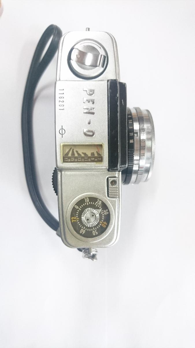 ☆ コンパクトフィルムカメラのベストセラー オリンパス ペン-D PEN-D アンティーク ☆ _画像2