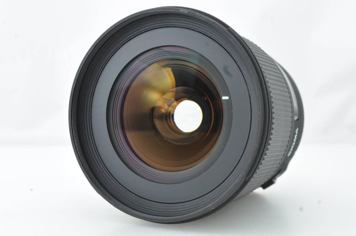 ★外観新品級★シグマ SIGMA 24mm f1.8 EX DG CANON #3102