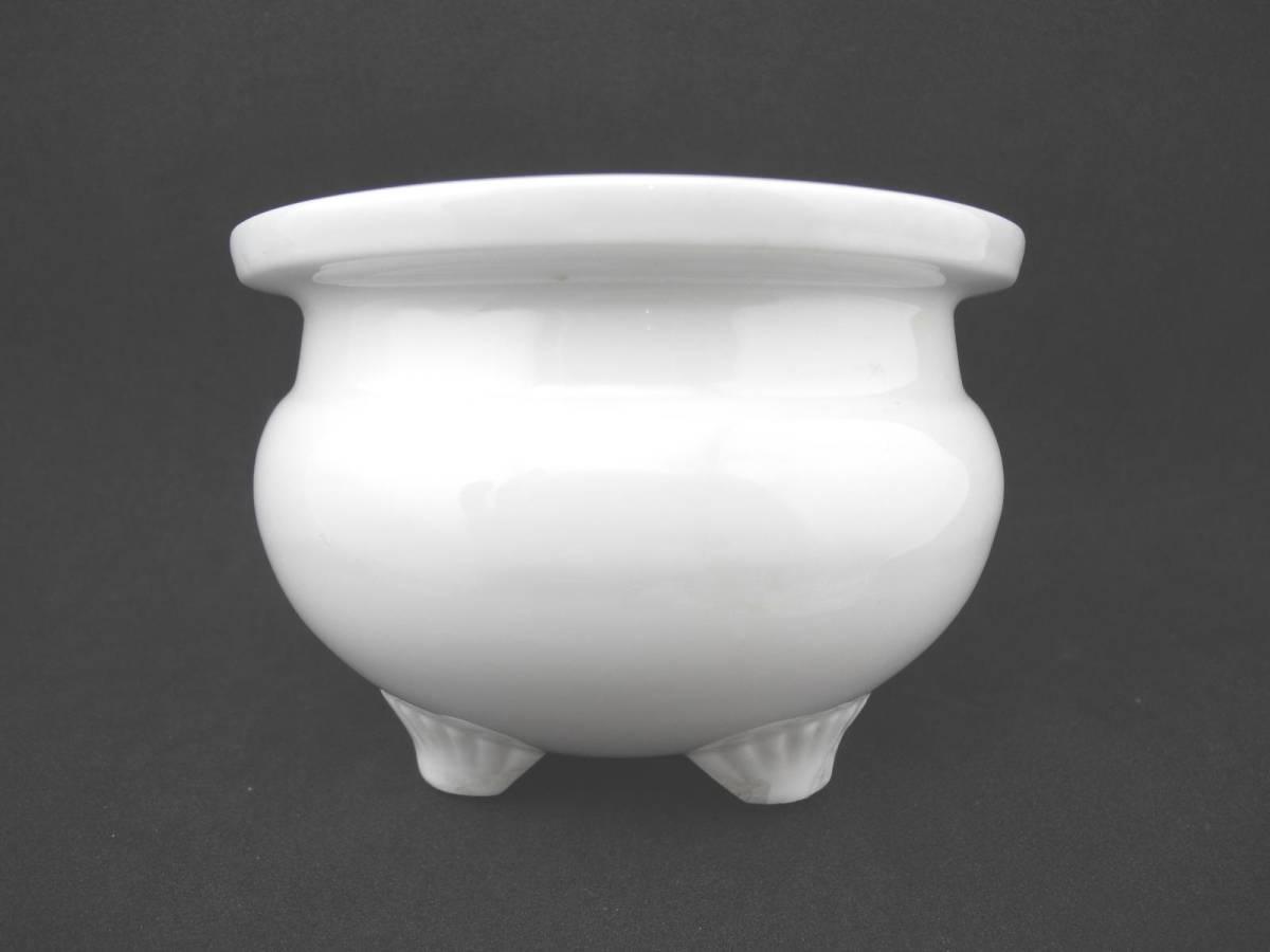 中国 白瓷 三足香爐 唐物