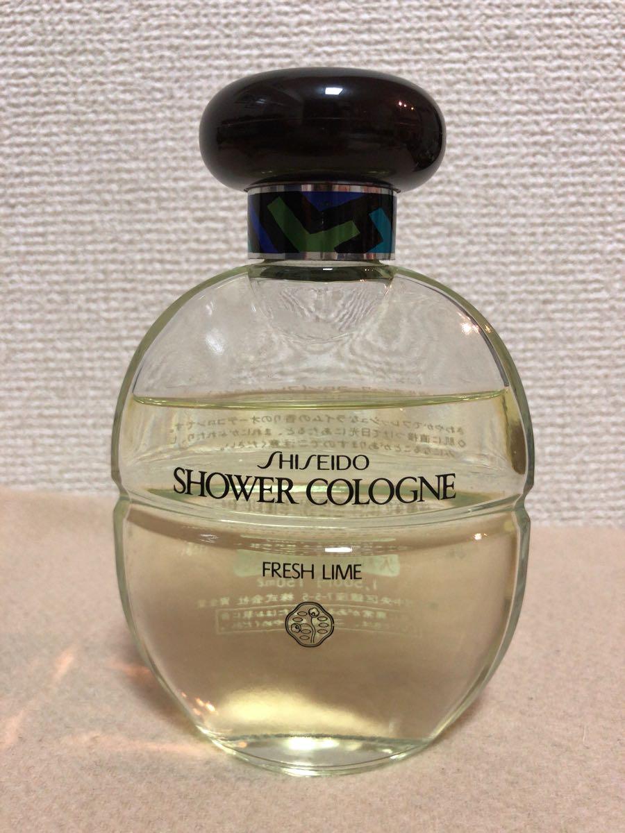 資生堂 シャワーコロン フレッシュライム 廃盤激レア香水 150ml_画像1