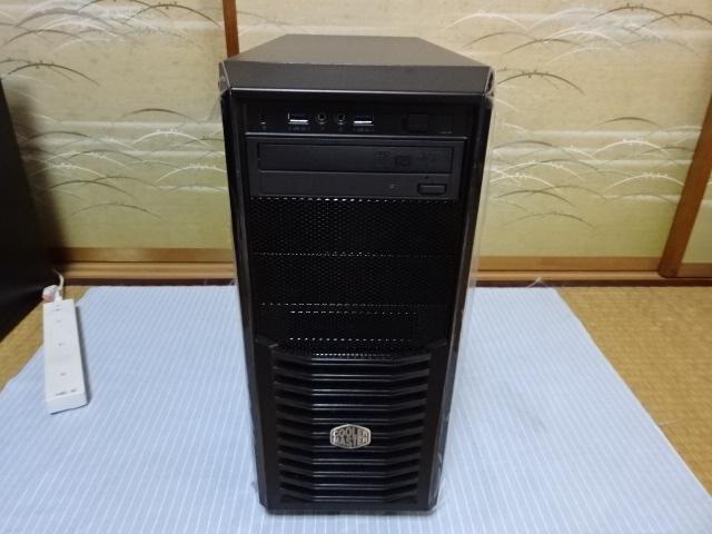 自作パソコン corei7 4930K/3.40GHz/HDD 2TB win 7 デスクトップ