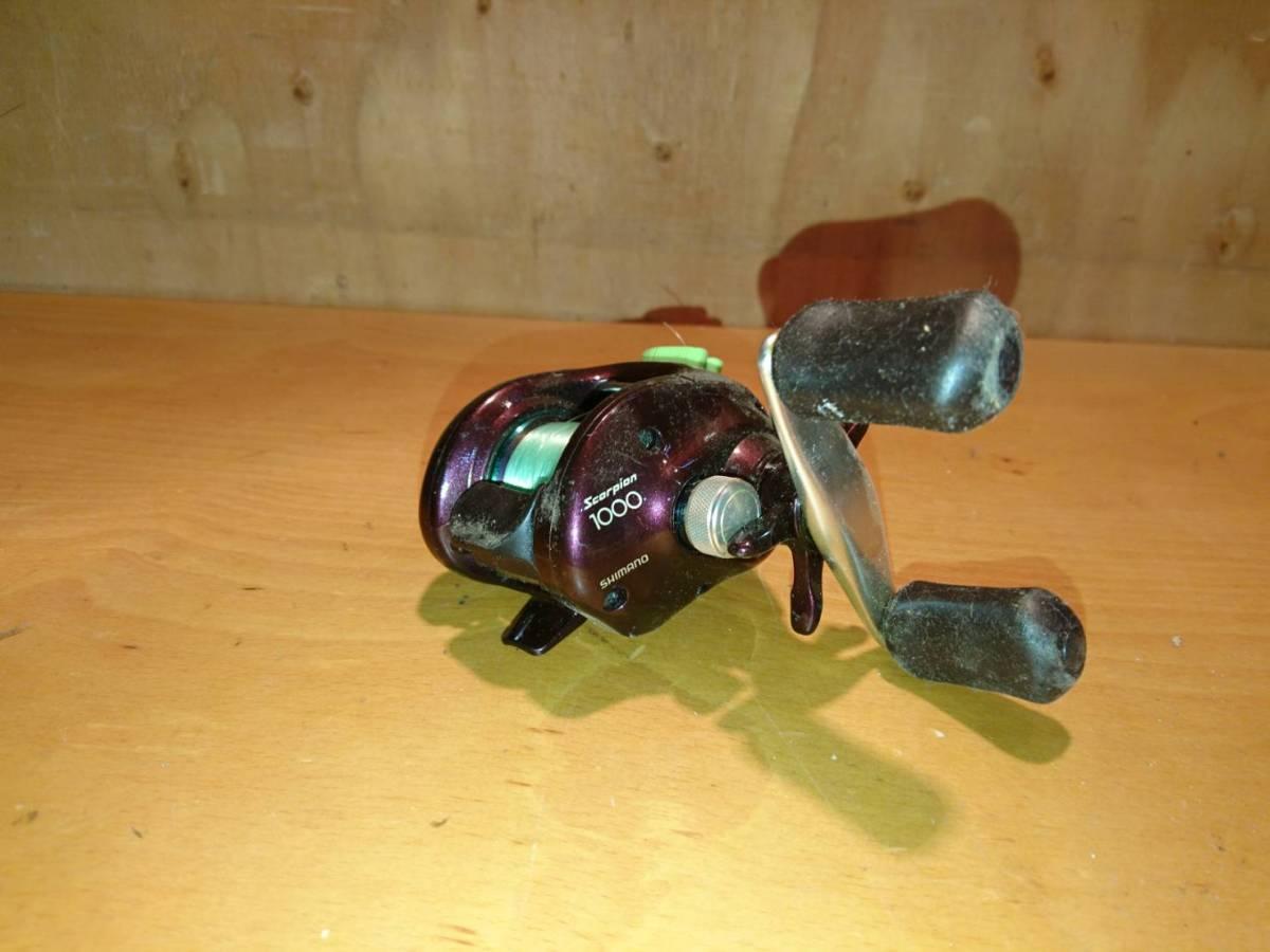 (61)SHIMANO Scorpion スコーピオン RH431 釣具 リール