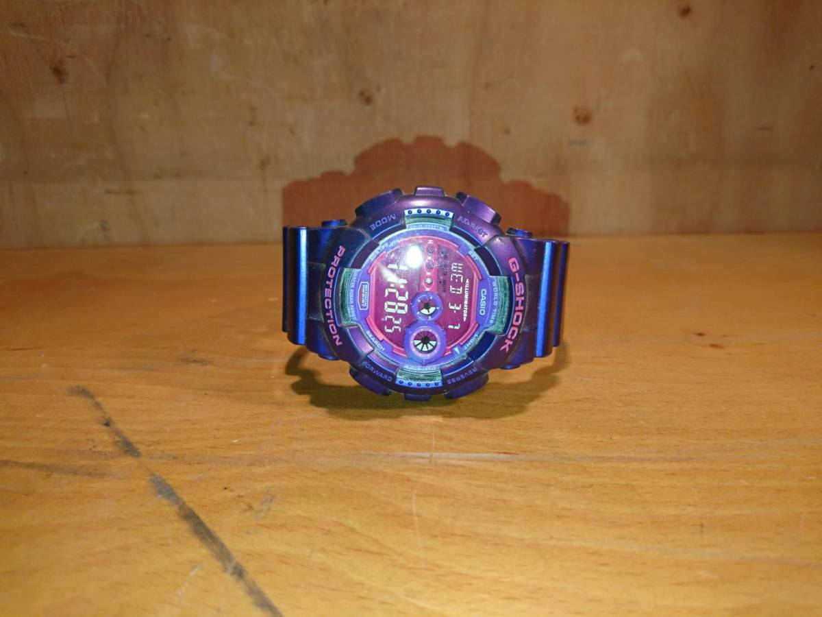 (149)G-SHOCK PROTECTION パープル ピンク