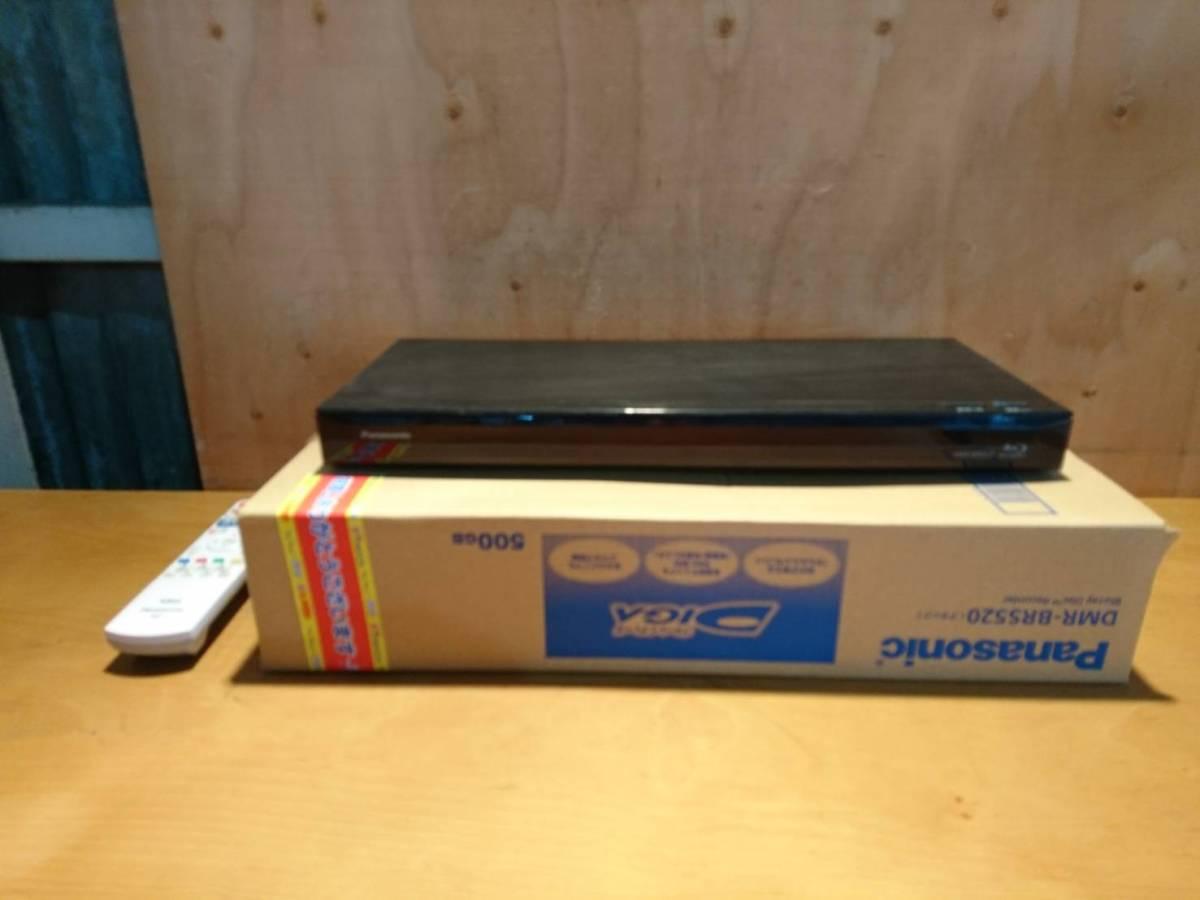 (200)Panasonic パナソニック ブルーレイディーガ DMR-BRS520 2017