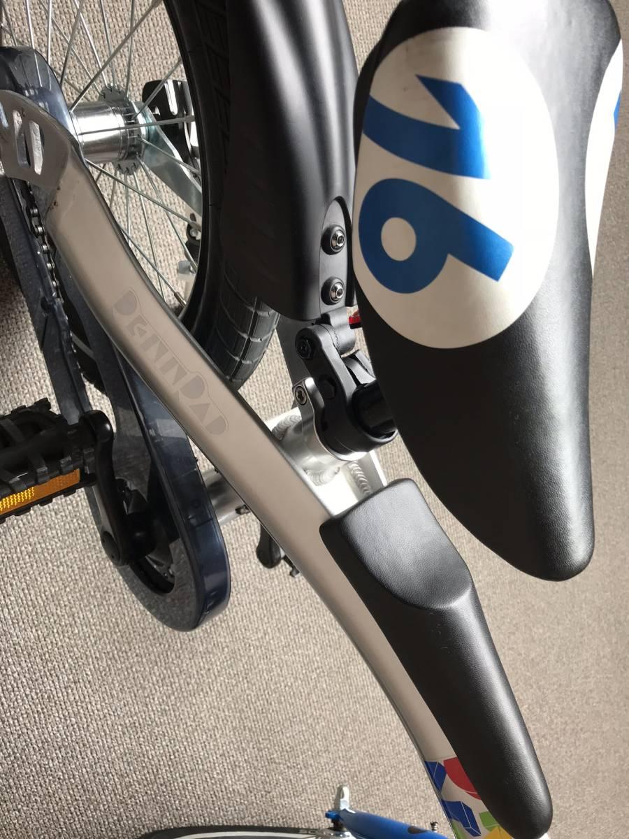 ☆ レンラッド へんしんバイク ブルー 16インチ 軽量子供用自転車♪_画像3