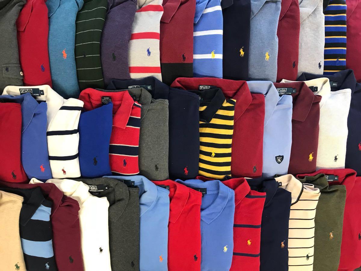 USA古着卸★ ポロラルフローレン 長袖 ポロシャツ 40枚 セット まとめ売り 1円スタート S