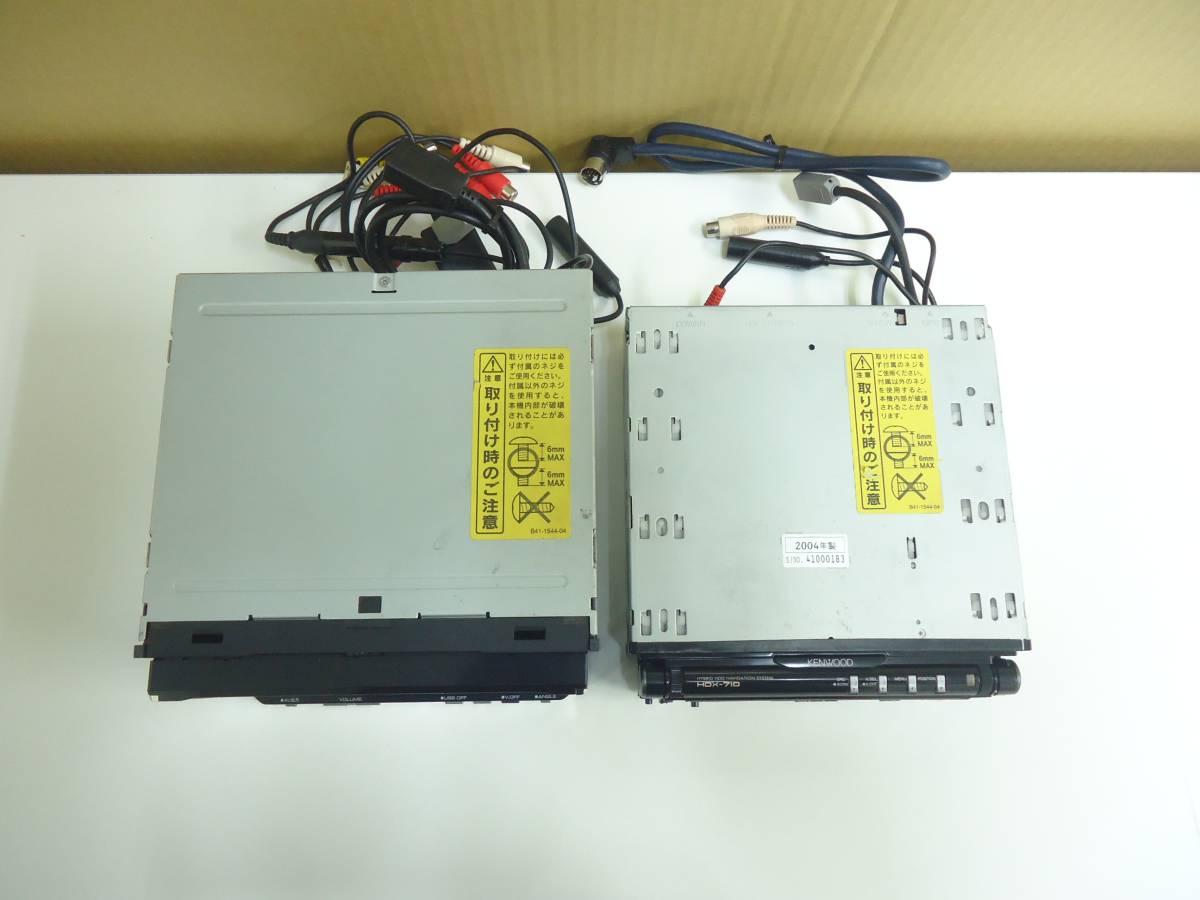 45:ジャンク HDV-990、HDX-710 本体のみ2台セット_画像2