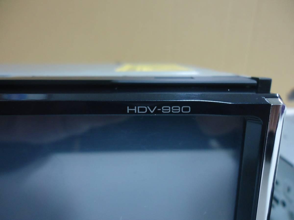 45:ジャンク HDV-990、HDX-710 本体のみ2台セット_HDV-990