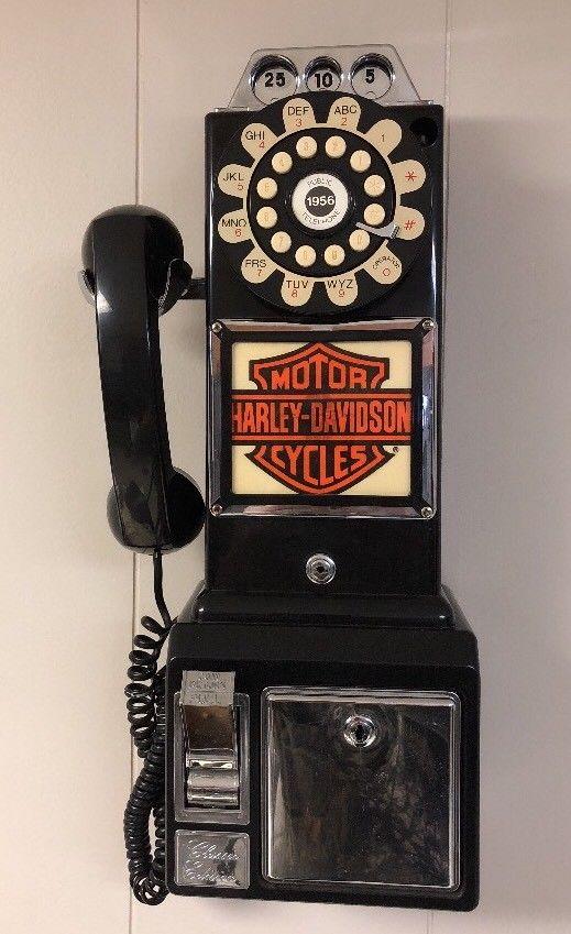 レア!! ヴィンテージ!!THOMAS 1956 電話機 ハーレーダヴィットソン