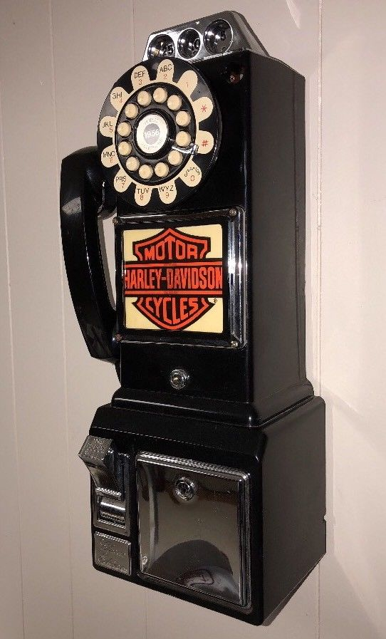 レア!! ヴィンテージ!!THOMAS 1956 電話機 ハーレーダヴィットソン_画像2
