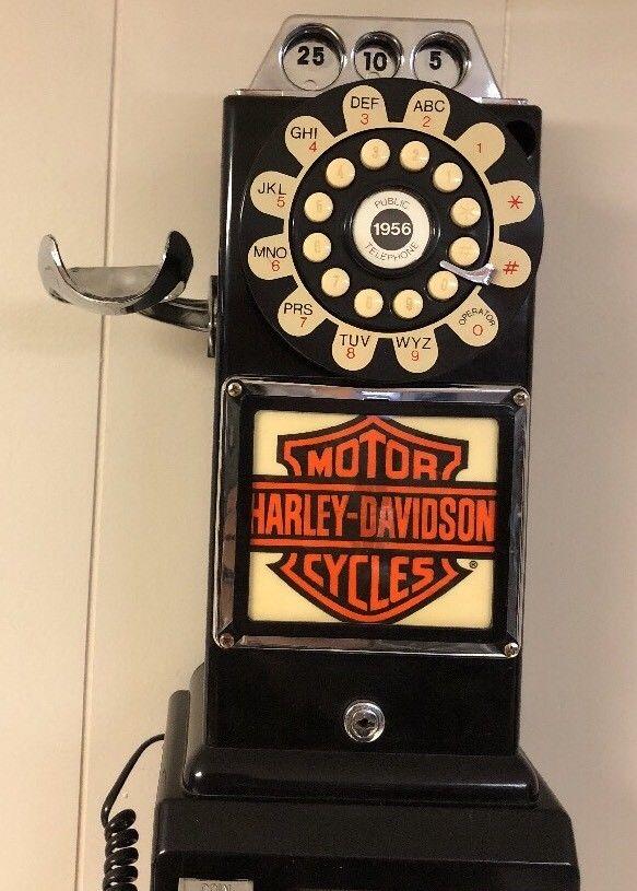 レア!! ヴィンテージ!!THOMAS 1956 電話機 ハーレーダヴィットソン_画像3