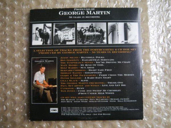 【非売品】George Martin/50 Years in Recording【UK Promo CD】_画像2