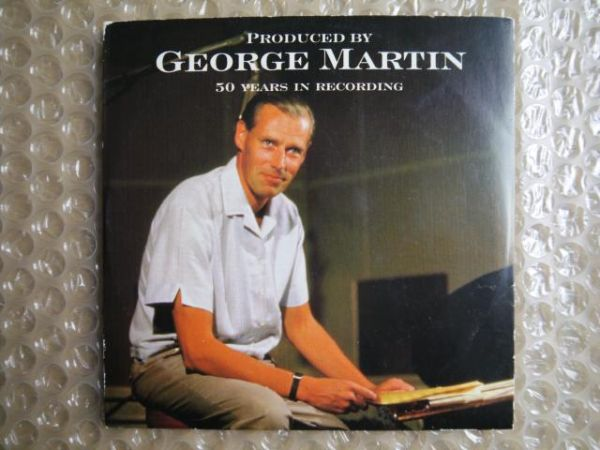 【非売品】George Martin/50 Years in Recording【UK Promo CD】