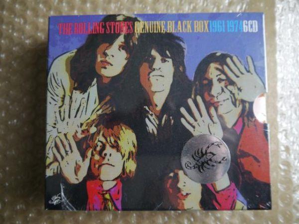 【未開封・完品】The Rolling Stones/Genuine Black Box【Scorpio 6 CD】SEALES