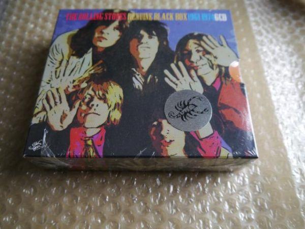 【未開封・完品】The Rolling Stones/Genuine Black Box【Scorpio 6 CD】SEALES_画像2