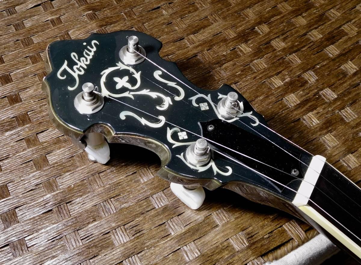【中古】TOKAI 東海楽器 T-1200R-W 5弦 バンジョー_画像3