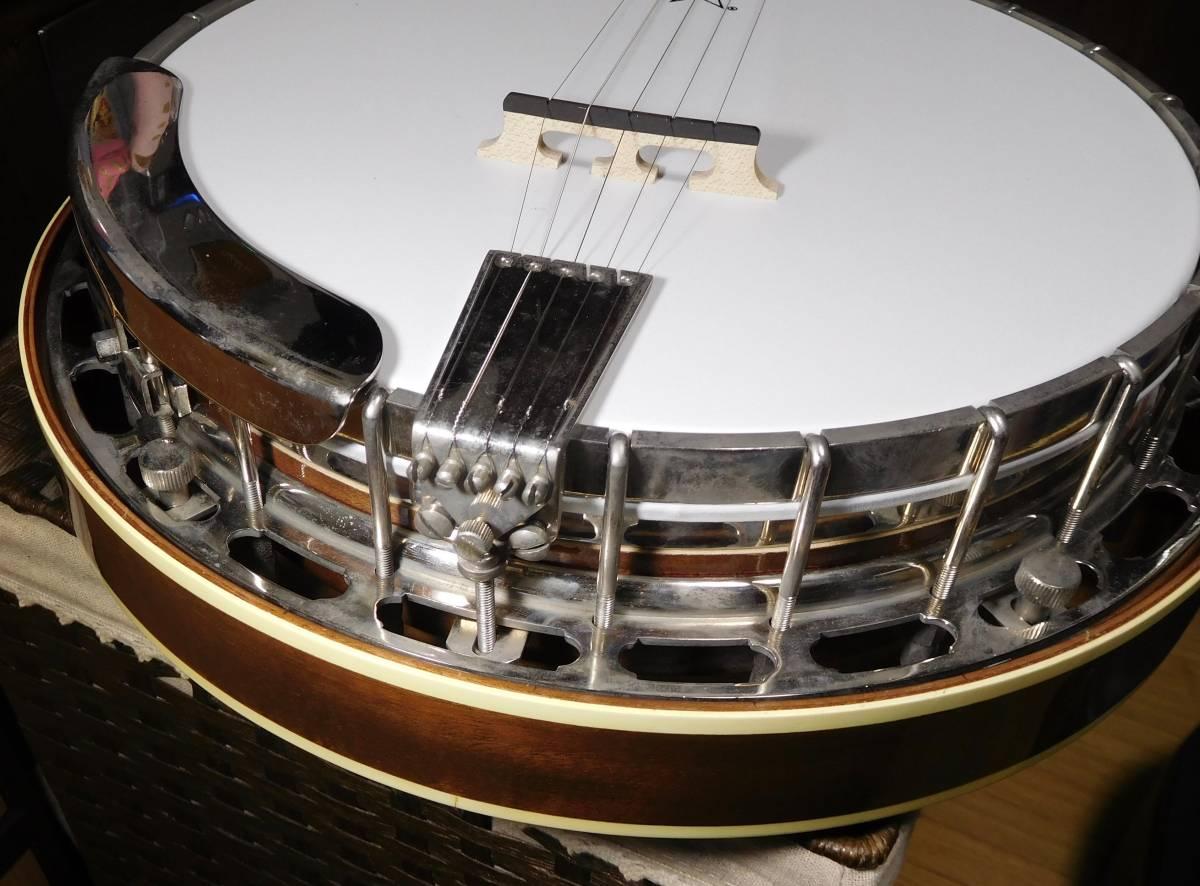 【中古】TOKAI 東海楽器 T-1200R-W 5弦 バンジョー_画像9