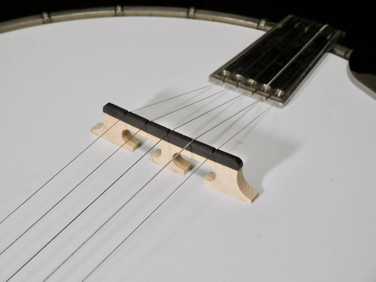 【中古】TOKAI 東海楽器 T-1200R-W 5弦 バンジョー_画像8