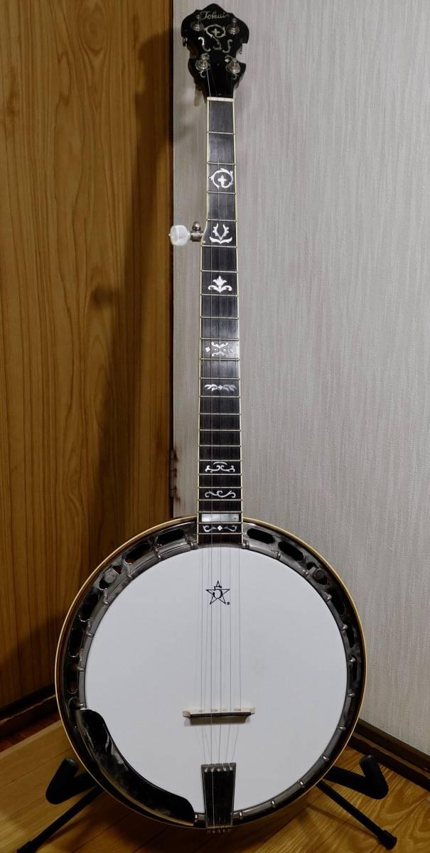 【中古】TOKAI 東海楽器 T-1200R-W 5弦 バンジョー