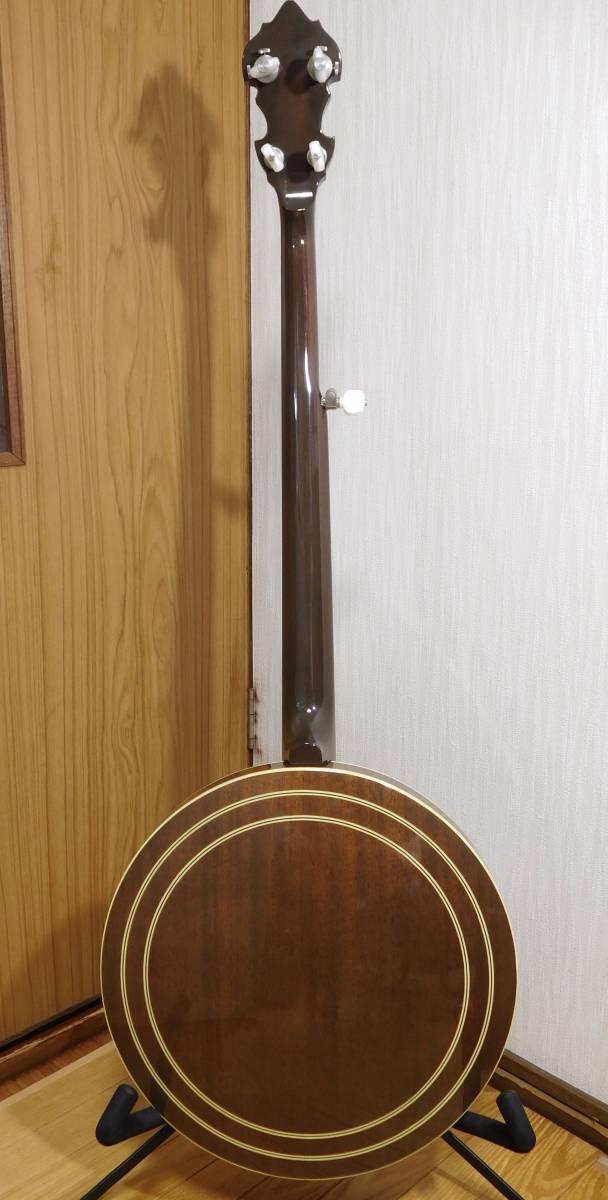 【中古】TOKAI 東海楽器 T-1200R-W 5弦 バンジョー_画像2