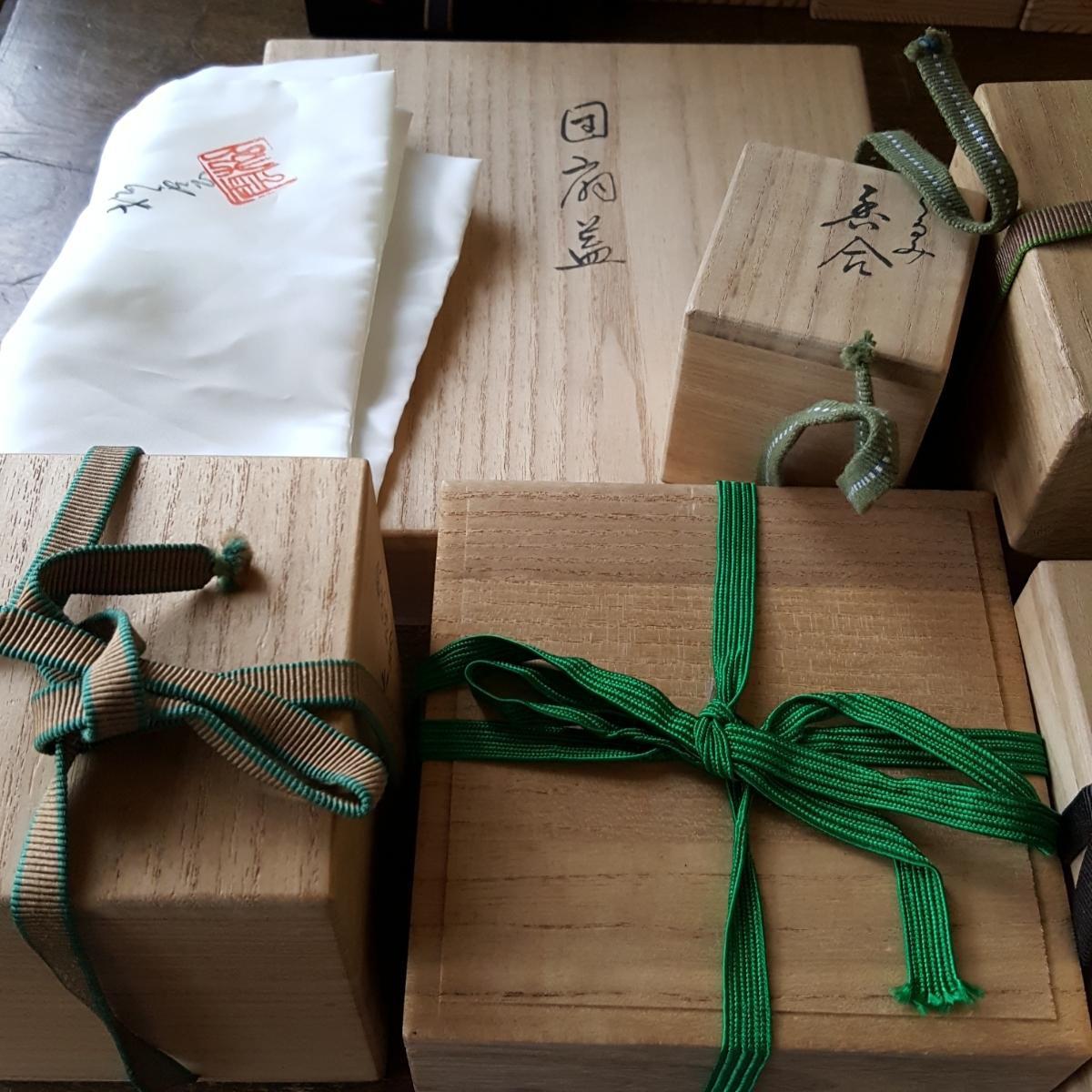 【 空箱 】 桐箱 箱 大量 まとめて セット 時代 資料 当時物 古道具 茶道具 木製 木箱 桐製 保管箱 収納箱 骨董 _画像7