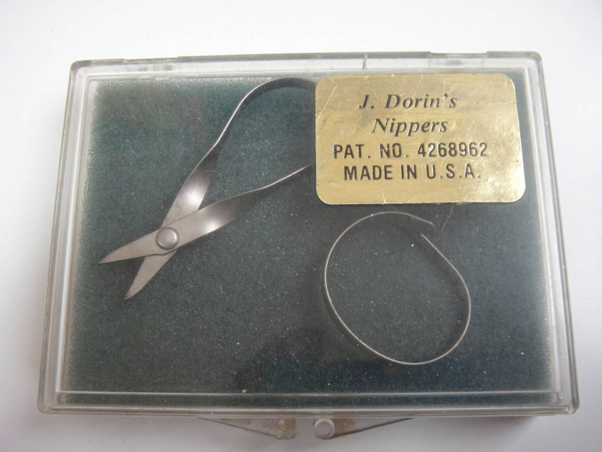 レア!新品未使用 廃盤品 小ハサミ J.Dorin's Nippers made in USA 送料無料