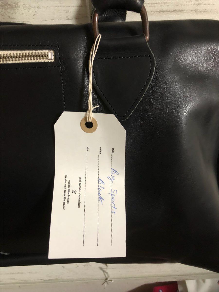 【大幅ディスカウント!】PAUL HARDEN BIG BAG ポールハーデン ボストンバッグ 【COLOR:BLACK】マックコート coat ジャケット シューズ_画像4