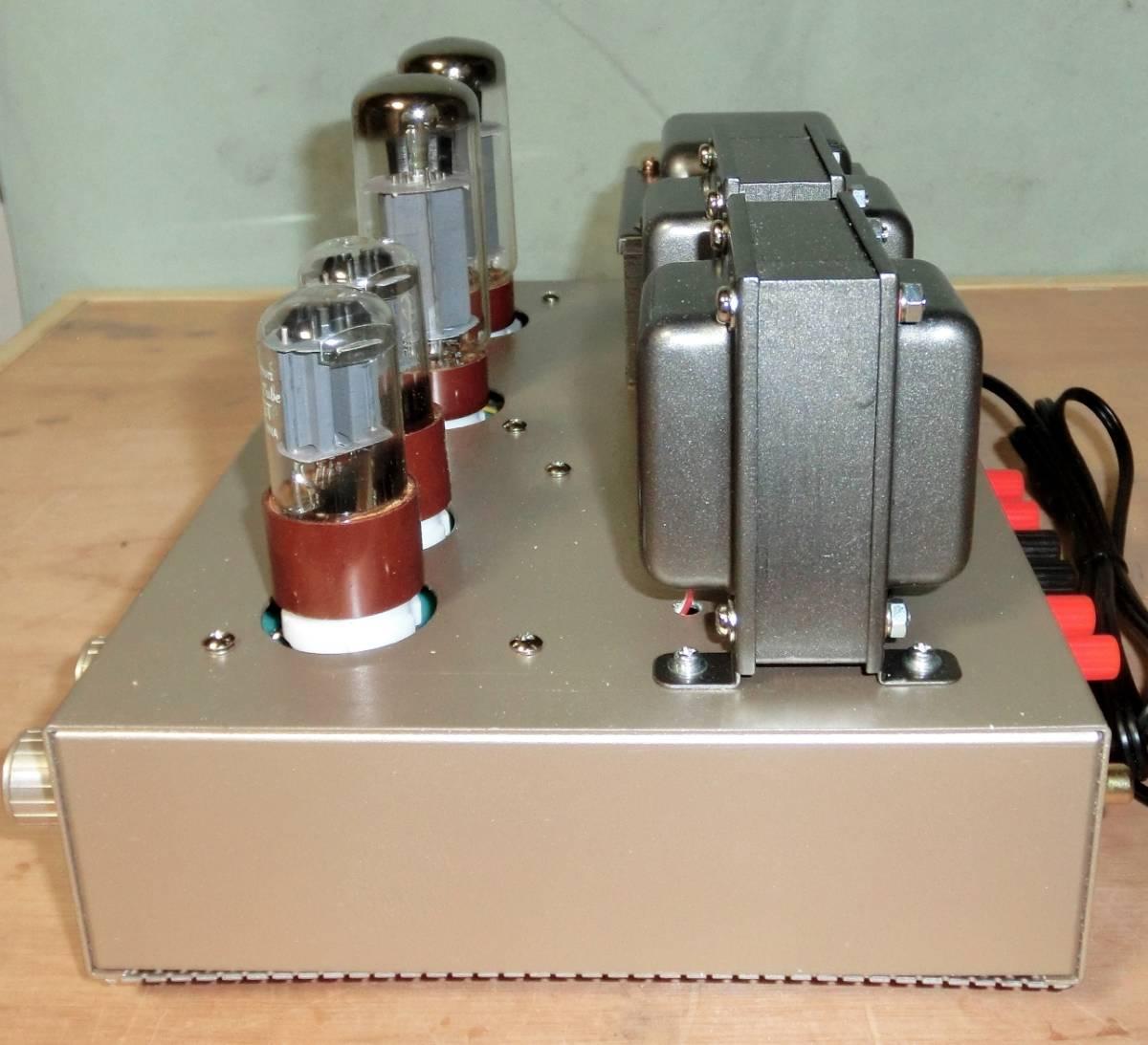 動作確認済 自作 「K.A Lab EL34(6CA7) Single Power Amplifier 」 組立完成品_画像3