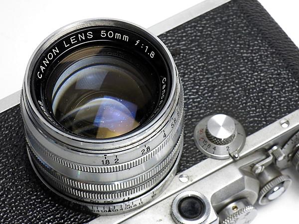 ☆キヤノン 4Sb 改型 50mm/1.8 付 /現状_画像3