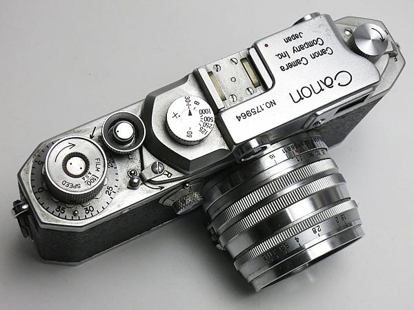 ☆キヤノン 4Sb 改型 50mm/1.8 付 /現状_画像4