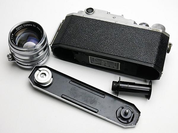 ☆キヤノン 4Sb 改型 50mm/1.8 付 /現状_画像6