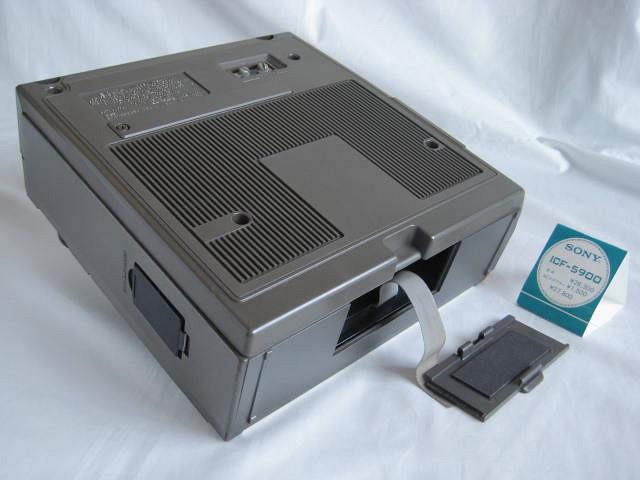 BCL 極上品 完全動作調整済品 SONY ソニー スカイセンサー5900 後期型 箱入 高感度 高性能 スプレッドダイヤル 昭和トランジスタラジオ_画像10