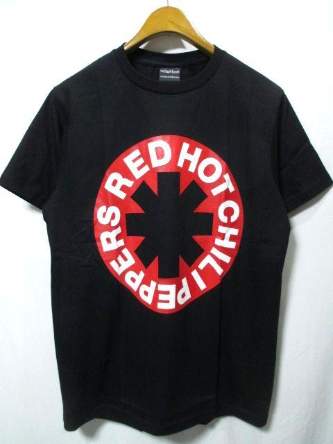 【即決/送料込み/新品】RED HOT CHILI PEPPERS/レッドホットチリペッパーズ レッチリ バンド Tシャツ 黒 L_画像1
