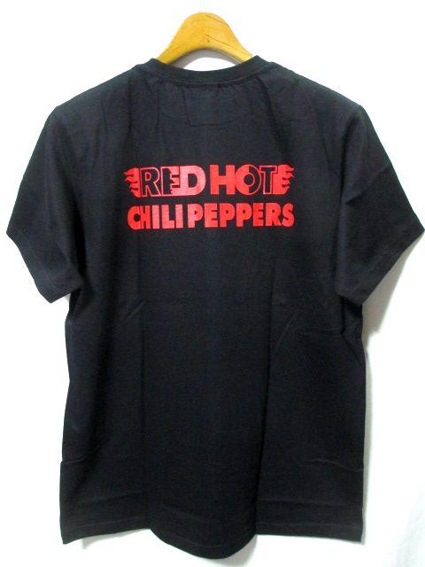 【即決/送料込み/新品】RED HOT CHILI PEPPERS/レッドホットチリペッパーズ レッチリ バンド Tシャツ 黒 L_画像2