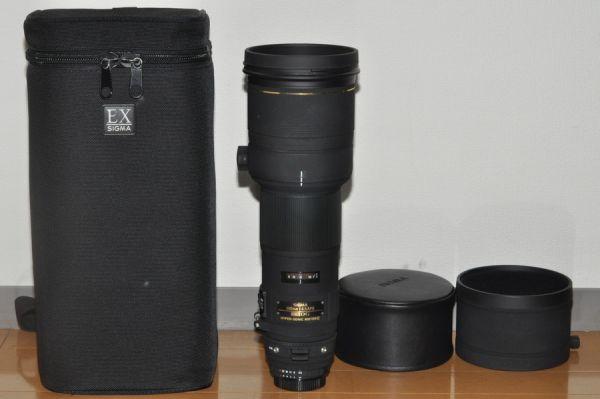 ★ほぼ新品級★SIGMA AF APO 500mm F4.5 EX DG HSM nikon #6575
