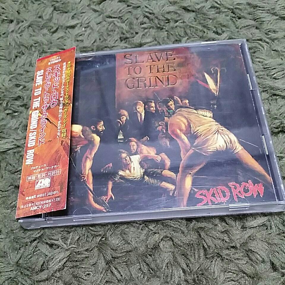 【帯つき】CD スキッド・ロウ スレイヴ・トゥ・ザ・グラインド SKID ROW SLAVE TO THE GRIND_画像1
