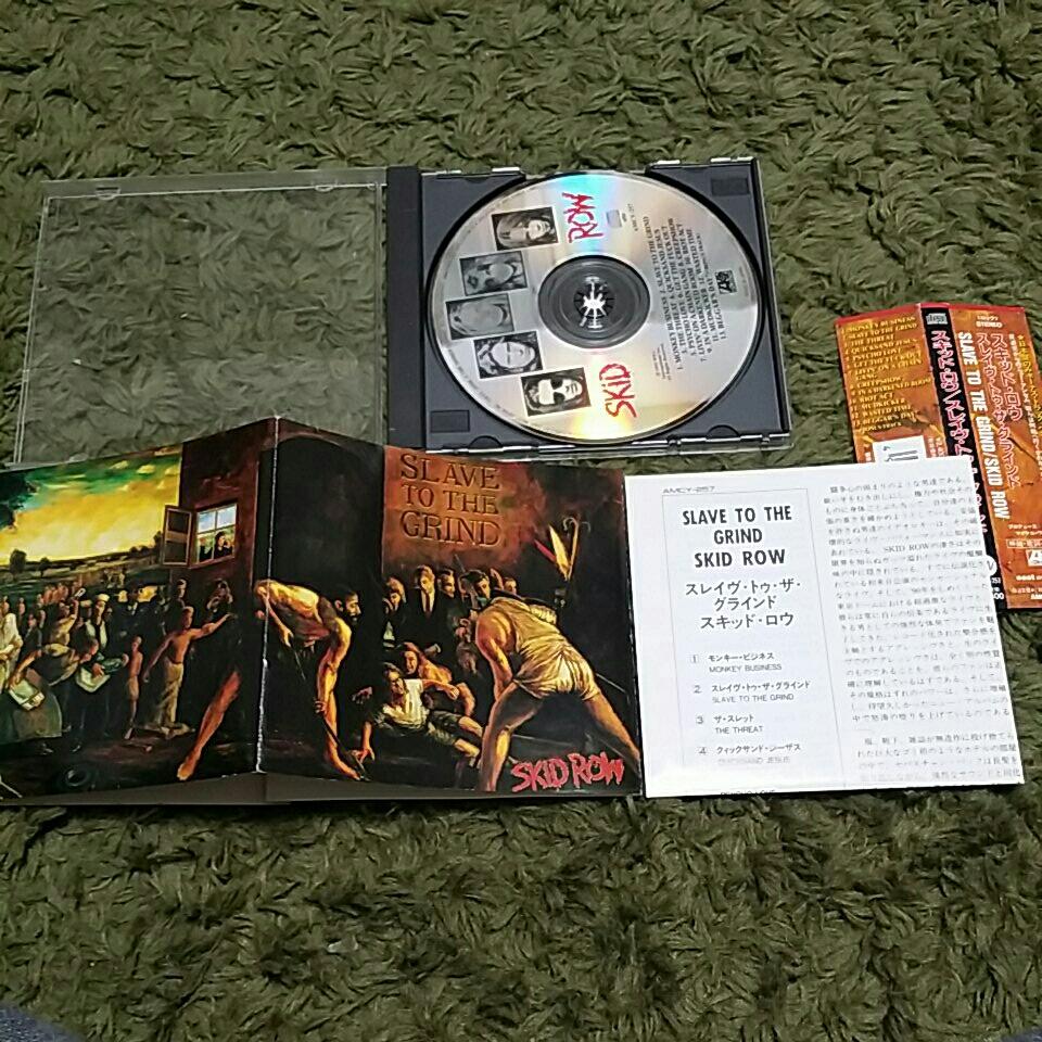 【帯つき】CD スキッド・ロウ スレイヴ・トゥ・ザ・グラインド SKID ROW SLAVE TO THE GRIND_画像2