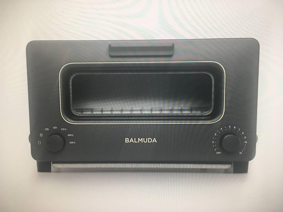 「未使用品」 バルミューダ スチームオーブントースター  K01E-KG(ブラック)2017年製  メーカー公認正規品・保証書在中